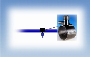 Tapping Saddle installs in compressed air piping systems.