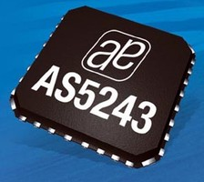 Angular Position Sensing IC suits automotive applications.