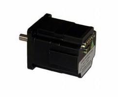 Brushless AC Servo Motor has 8,000 count/rev encoder.