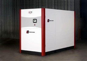 Rotary Screw Compressors operate from 70-175 psig.