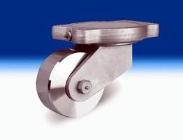 Heavy-Duty Steel-Wheel Casters feature taper roller bearing.