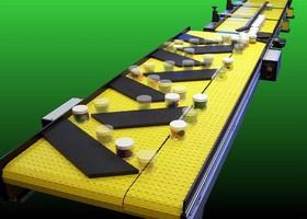 Accumulating Conveyors feature bi-directional dual path.