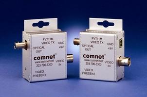 Video Transmitter is designed for multimode optical fiber.