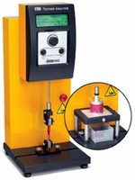 Texture Analyzer allows testing of products and packaging.