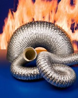 Hose suits fume control and exhaust removal applications.