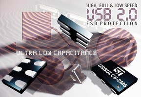 ESD Protector safeguards high-speed UDB devices.