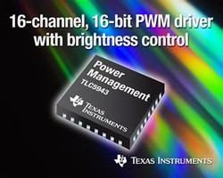 LED Driver has input voltage of up to 17 V.
