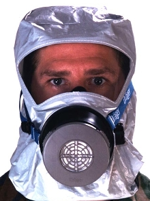 Escape Hood is NIOSH approved.