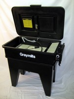 Heated Aqueous Parts Washer is made from recycled plastic.