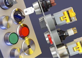 Stainless Steel Switches are designed for control panels.