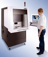 Workstation is capable of producing high quality laser marks.