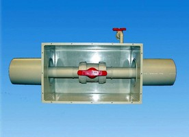 Thermoplastic Boxes protect valves in harsh environment.