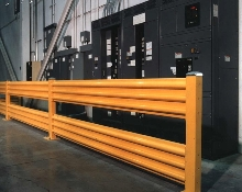 Protective Railing reduces fork truck injuries.
