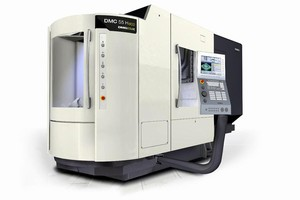 "DMG Announces World Premiere of New ""DMC 55 H ECO"" Machine at IMTS"