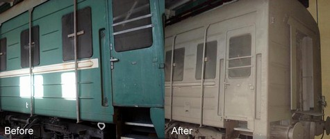 VRZ Cleans Passenger Cars More Efficiently and Consistently with Wheelabrator Autoblast Machine