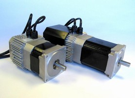 Brushless DC Servo Motor is NEMA 34 rated.