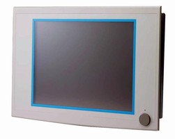 Industrial Panel PC features 17 in. SXGA TFT LCD.