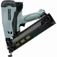 Compact Gas Finish Nailers are lightweight and maneuverable.