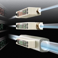 Air Flow Sensor comes with integrated dual color display.