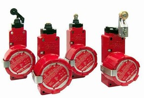 Explosion-Proof Safety Switch has positive break mechanism.