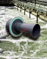 Flow Meter measures aeration at sewage treatment plants.