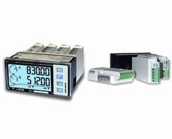 Modular Tachometer has analog and digital display.