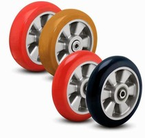 Polyurethane Wheels handle loads up to 1,200 lb.