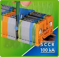 WAGO Terminal Blocks Carry 100 kA SCCR