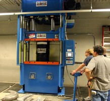 Beckwood Delivers Advanced Hydraulic Press to Orange County Choppers for Use in New Production Bike Line