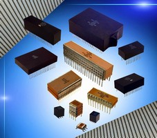 Capacitors meet B level MIL PRF 49470 specifications.