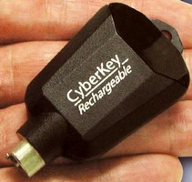 Electronic Key is rechargeable and programmable.