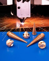 Laser Nozzles are compatible with mechanical or sensor heads.