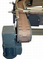 Link Chain Conveyor features speeds of up to 50 m/minute.