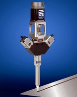 Mixing Valve dispenses 2-component adhesives and sealants.