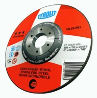 Abrasive Discs enable freehand grinding and cutting of steel.
