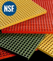 Strongwell's DURAGRATE® Molded Grating Receives NSF Certification