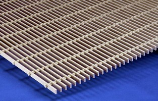 Fiberglass Grating is corrosion and impact resistant.