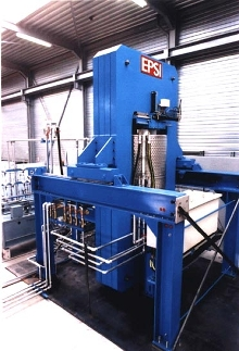 Press Production Unit offers interchangeable furnaces.