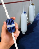 Adjustable Rope Stop adds grip, spacer, or knot.