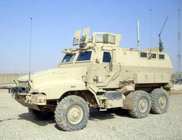 Spectrex AFES Protects the MRAP CAIMAN (CAT II)