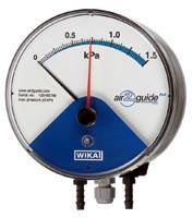 Differential Pressure Gauge features 2-part measuring system.