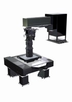 Photolithography Stepper features high resolution lens.