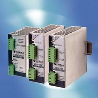 DC Power Supplies offer up to 91% efficiency.
