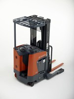 Reach Trucks feature ac-powered drive system.