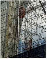 Track Hoist is suited for erecting scaffolding.