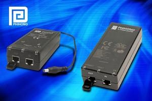PoE Midspan and Splitter meet IEEE802.3at standard.