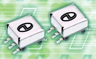 Surface Mount Gate Drive Transformer is resistant to EMI.