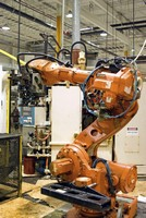 Motion Controllers are suited for robotic applications.