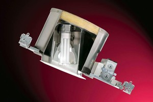 CFL Slope Ceiling Downlights offer dimming down to 15%.