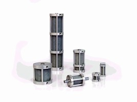 Air Cylinders feature corrosion resistant bearing material.